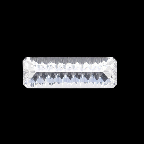 Crystal Octagon Concave 10 x 30 mm 16.30 Carats GSCCRY002