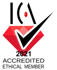 International Colored Gemstone Association (ICA) Accredited Ethical Member