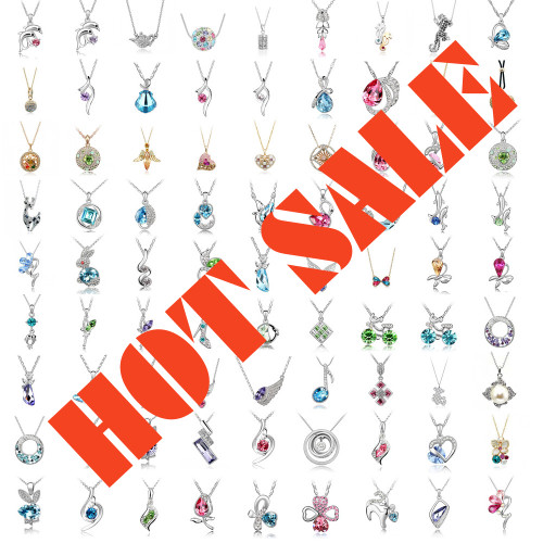 WHOLESALE Lot of 5 Random Necklaces for Women, High Quality Stylish Necklaces at Wholesale Price