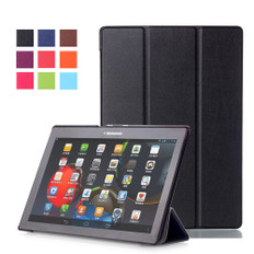 "Lenovo Tab 4 10"" Tablet Smart Leather Case Cover TB-X304 F/N Tab4 inch"