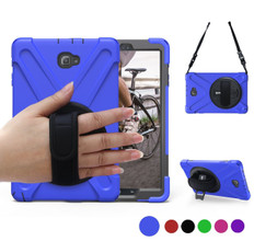 "Heavy Duty Strap Samsung Galaxy Tab A 10.1"" T580 T585 Kids Case Cover"