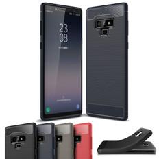 Slim Samsung Galaxy Note 9 Carbon Fibre Soft Carbon Case Cover Note9