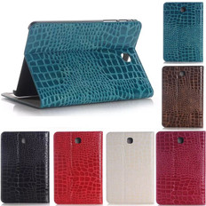 "Samsung Galaxy Tab S4 10.5"" T830 T835 Croc-style Leather Case Cover"