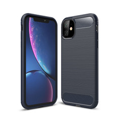 Slim iPhone 11 Shockproof Soft Carbon Case Cover Apple Skin iPhone11