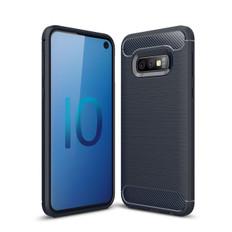 Slim Samsung Galaxy S10e Carbon Fibre Soft Carbon Case Cover S 10e