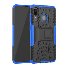 Heavy Duty Samsung Galaxy A20 2019 Handset Shockproof Case Cover A205