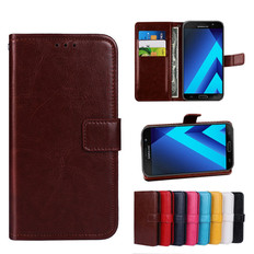 Folio Case Samsung Galaxy A7 2017 Handset Leather Cover A720 Phone