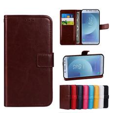 Folio Case Samsung Galaxy J5 Pro 2017 Leather Cover J530 F/Y Phone