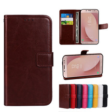 Folio Case Samsung Galaxy J7 Pro 2017 Leather Cover J730 GM/DS Handset