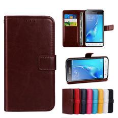 Folio Case For Samsung Galaxy J1 2016 Leather Case Cover J120 J120F