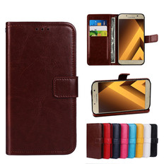 Folio Case Samsung Galaxy A8 2018 Handset Leather Cover A530 Phone