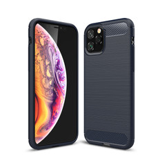 Slim iPhone 11 Pro Max Shockproof Soft Carbon Case Cover Apple ProMax