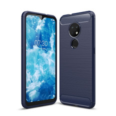 Slim Case For Nokia 6.2 Carbon Fibre Soft Cover