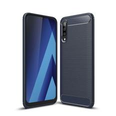 Slim Samsung Galaxy A50 Carbon Fibre Soft Carbon Case Cover A505