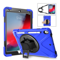 "Heavy Duty Strap iPad Air 3 10.5"" 2019 Apple Shockproof Case Cover 3rd"