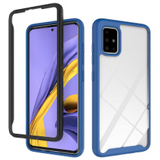 Shockproof Bumper Case Samsung Galaxy A51 Clear Back Cover A515