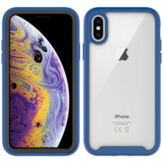 Shockproof Bumper Case iPhone Xs X Clear Back Cover Apple iPhoneXs