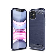 Slim iPhone 12 Shockproof Soft Carbon Case Cover Apple Skin iPhone12