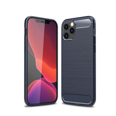 Slim iPhone 12 Pro Max Shockproof Soft Carbon Case Cover Apple Skin