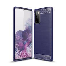 Slim Samsung Galaxy S20 FE Fan Edition Carbon Fibre Soft Case Cover