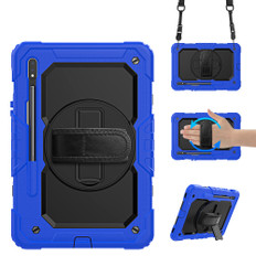 """Shockproof Samsung Galaxy Tab S7 11"""" Strap Case Cover T870 T875 T876"""