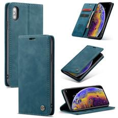 CaseMe iPhone Xs Max Classic Folio PU Leather Case Cover Apple Skin