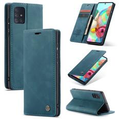 CaseMe Samsung Galaxy A71 4G Classic Leather Folio Case Cover A715