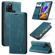 CaseMe Samsung Galaxy A21s 2020 Classic Leather Folio Case Cover A217