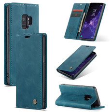CaseMe Samsung Galaxy S9 Classic PU Leather Folio Case Cover G960 Skin