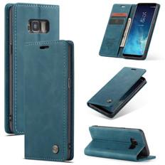 CaseMe Samsung Galaxy S8 Classic PU Leather Folio Case Cover Skin