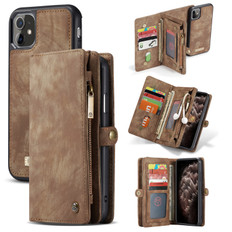 CaseMe 2-in-1 iPhone 11 Detachable Case PU Leather Wallet Cover Apple