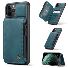 CaseMe Shockproof iPhone 11 Pro Leather Case Cover Zipper Wallet Apple