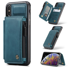 CaseMe Shockproof iPhone X Xs Leather Case Cover Zipper Wallet Apple