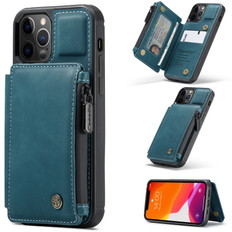 CaseMe Shockproof iPhone 12 Pro Leather Case Cover Zipper Wallet Apple