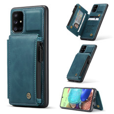CaseMe Shockproof Samsung Galaxy A71 PU Leather Case Cover Wallet A715