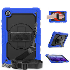 """Shockproof Samsung Galaxy Tab A7 10.4"""" 2020 Strap Case Cover T500 T505"""