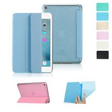 "Sleek iPad 10.2"" 2019 Smart Soft TPU Case PU Leather Cover Apple 7th"