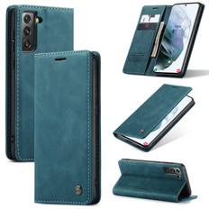 CaseMe Samsung Galaxy S21 5G 4G Classic Folio PU Leather Case Cover