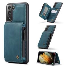 CaseMe Shockproof Samsung Galaxy S21+ Plus 5G Case Cover Zipper Wallet