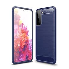 Slim Samsung Galaxy S21+ Plus 5G Carbon Fibre Soft Case Cover G996