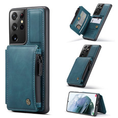 CaseMe Shockproof Samsung Galaxy S21 Ultra 5G Wallet Case Cover G998