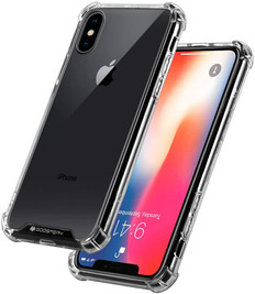 Goospery iPhone X Xs Clear Phone Case Shockproof Bumper Cover iPhoneX