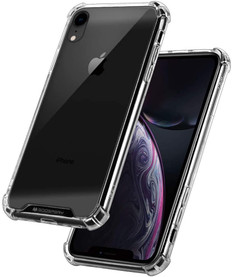 Goospery iPhone XR Clear Phone Case Shockproof Bumper Cover iPhoneXR