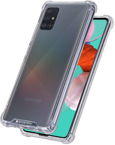 Goospery Samsung Galaxy A51 4G Clear Phone Case Shockproof Cover A515