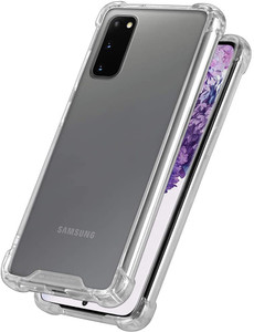 Goospery Samsung Galaxy S20 Clear Phone Case Shockproof Bumper Cover