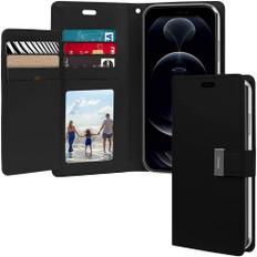 Goospery iPhone XR Flip Wallet Case Cover Extra Card Slots Apple