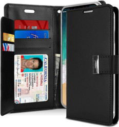 Goospery iPhone X Xs Flip Wallet Case Cover Extra Card Slots Apple