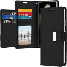 Goospery Samsung Galaxy S9+ Plus Wallet Case Cover Extra Slots G965