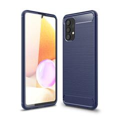 Slim Samsung Galaxy A32 4G 2021 Carbon Fibre Soft Case Cover A325