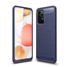 Slim Samsung Galaxy A52 4G 5G Carbon Fibre Soft Case Cover A525 A526